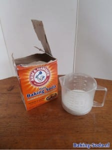 Baking Soda in maatbeker