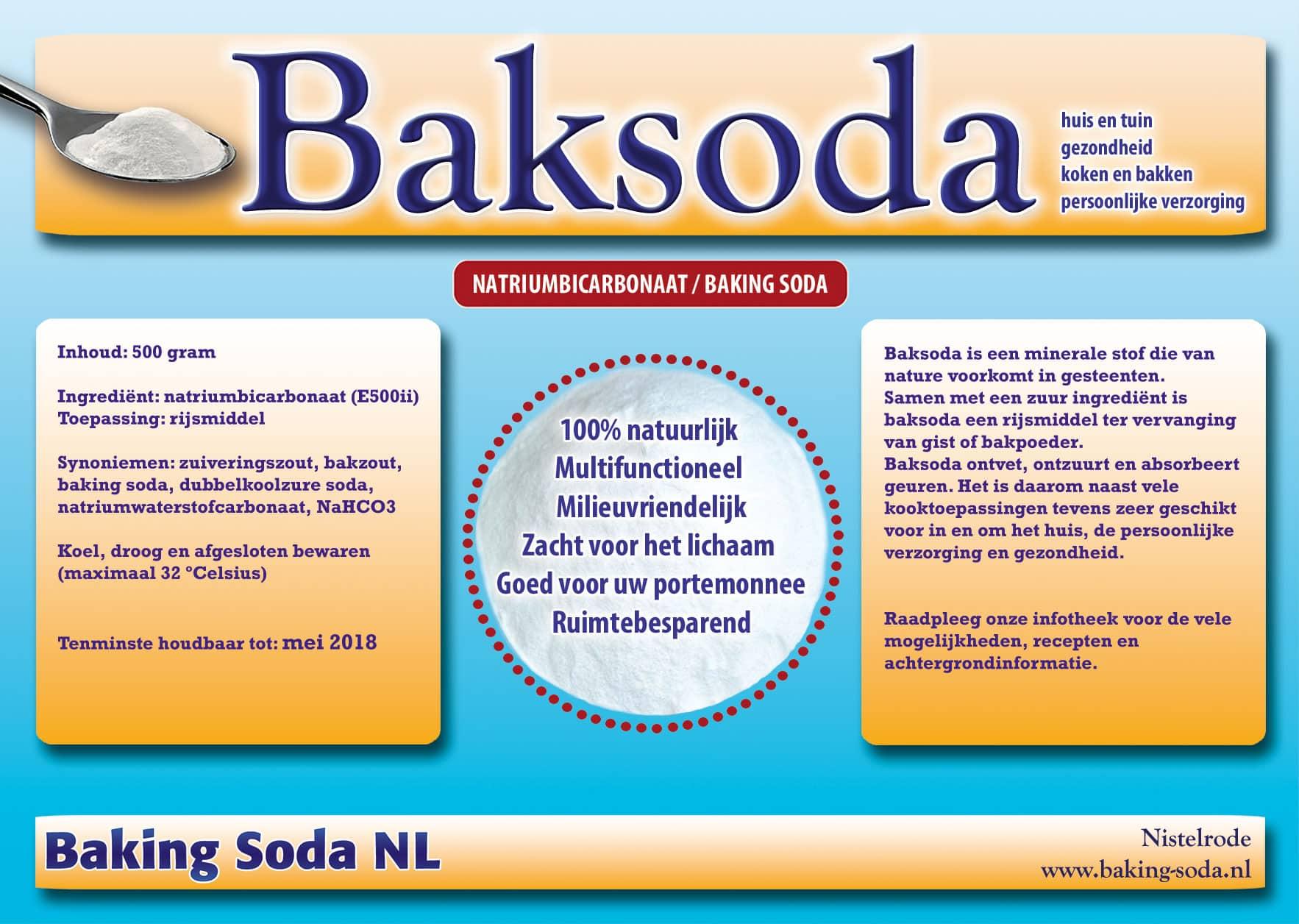 Baksoda - Baking Soda NL