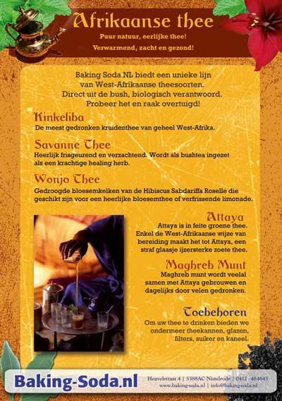 Afrikaanse thee bij Baking Soda NL
