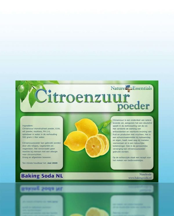citroenzuurpoeder, baking soda nl - baking soda nl