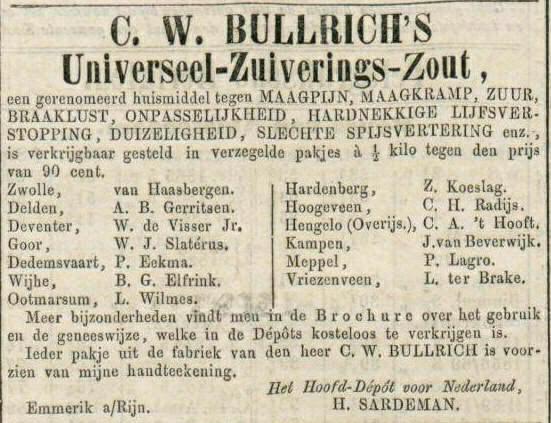 zuiveringszout 1867