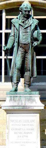 Standbeeld van Nicolas Leblanc