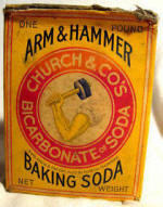 baking soda Arm and Hammer