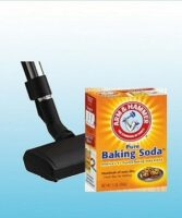 Baking Soda voor het tapijt en de vloeren