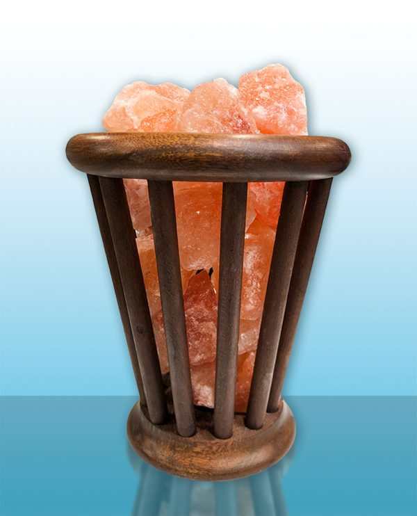 Himalaya zoutlamp V-vorm