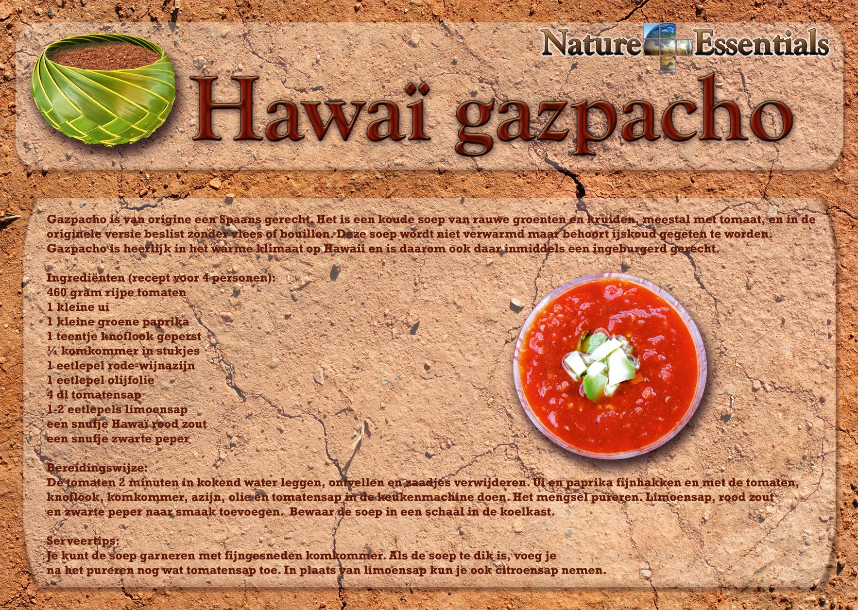 Hawaii Alaea Rood Zout - achterzijde